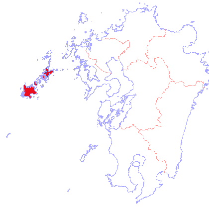 五島列島について <トップページに戻る> 五島列島ってどんな所? 五島列島は九州の西の外れにあり